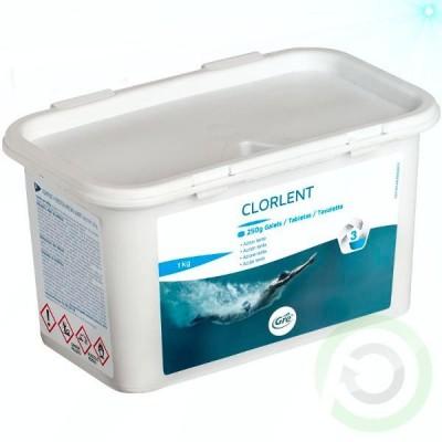 Таблетки - Gre за бавно хлориране на водата в басейн
