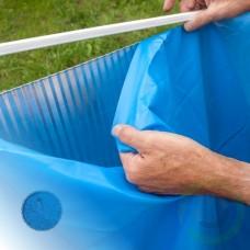 Линер за басейн - Gre кръг с дълбочина 120 см