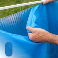 Линер за басейн - Gre овал с дълбочина 120 см