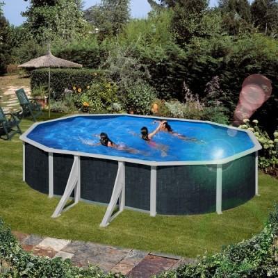 Сглобяем овален басейн - Gre java