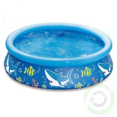 Детски надуваем басейн - Summer Waves морско дъно