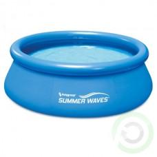 Надуваем Басейн - Summer Waves quick set