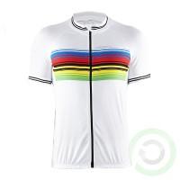 Мъжка тениска - Craft ab champ jersey M white/black