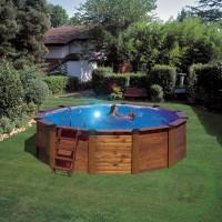 Сглобяем басейн - кръг Gre island
