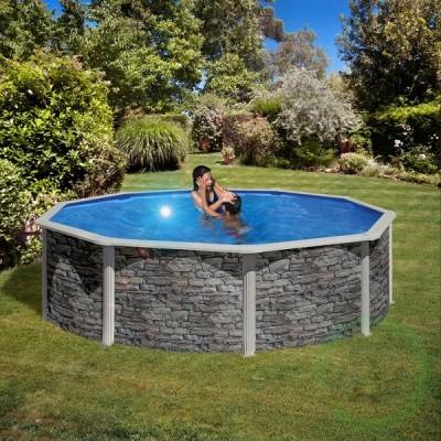 Сглобяем басейн - кръгъл Gre cerdena