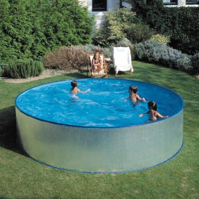 Сглобяем басейн - кръгъл Gre tenerife