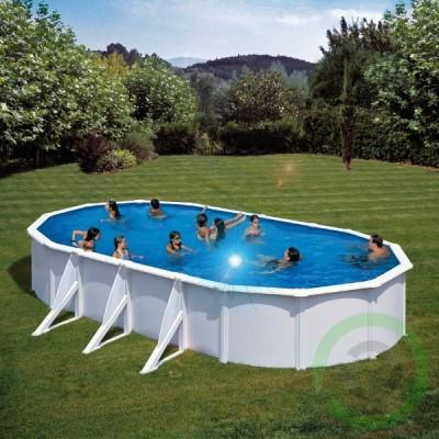 Сглобяем басейн - овален Gre fidji