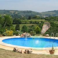 Сглобяем басейн за вграждане - кръгъл Gre madagascar