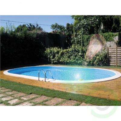 Сглобяем басейн за вграждане - овален Gre madagascar