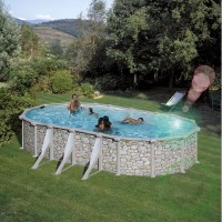 Сглобяем овален басейн - Gre cerdena