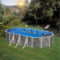 Сглобяем овален басейн - Gre corcega
