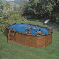 Сглобяем овален басейн - Gre island